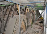 All Saints Church chancel roof repairs.