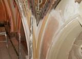 All Saints Church chancel vault restoration.