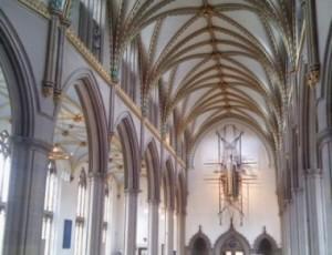 Blackburn Cathedral nave.