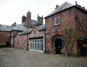 Completed restoration of Capesthorne Hall stable block.
