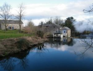 Heron Corn Mill on the River Bela.